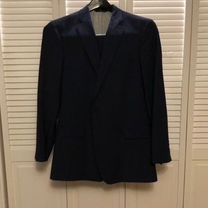 Navy Pinstriped Brooks Brothers Suit